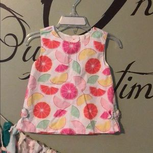 Gymboree citrus dress 18-24 months